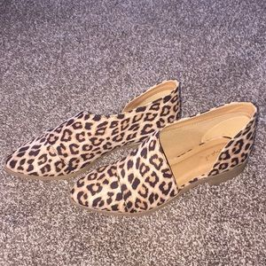 Quipid leopard bootie women's size 8 NEW